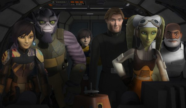 Star Wars Rebels – Family Reunion / and Farewell television review