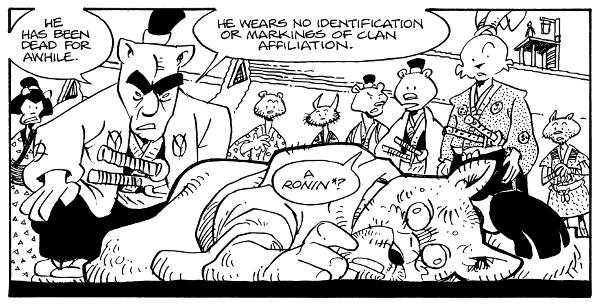 Usagi Yojimbo: The Hidden #1 comic review