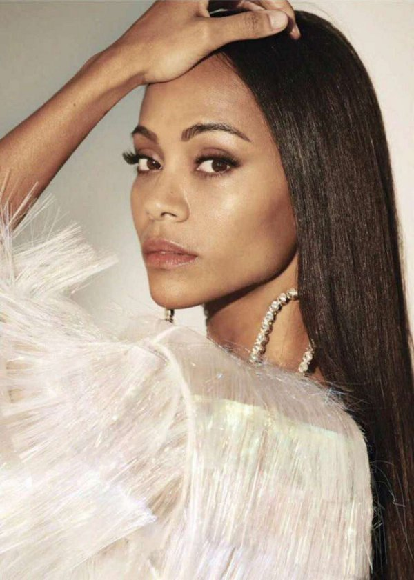 Zoe Saldana - Glamour Mexico (April 2018)