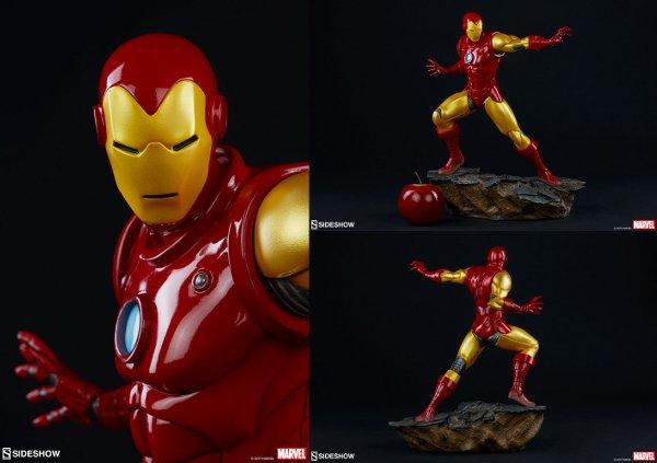 Iron Man Avengers Assemble Statue