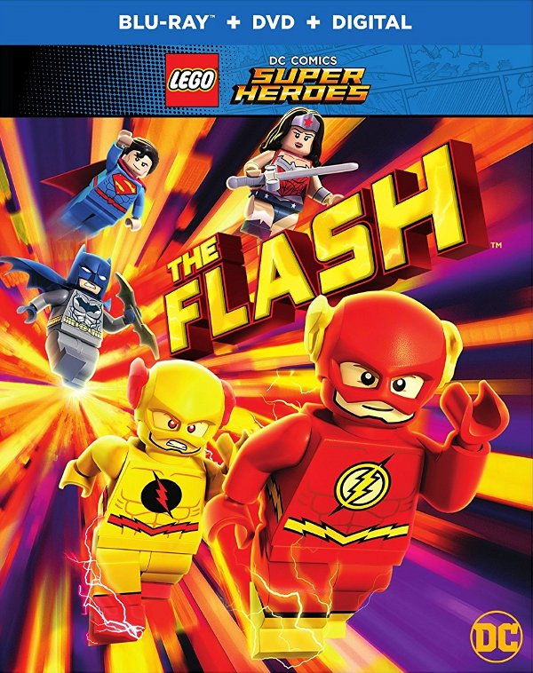 LEGO DC Comics Super Heroes: The Flash Blu-ray review