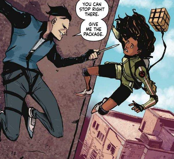 Skyward #1 comic review