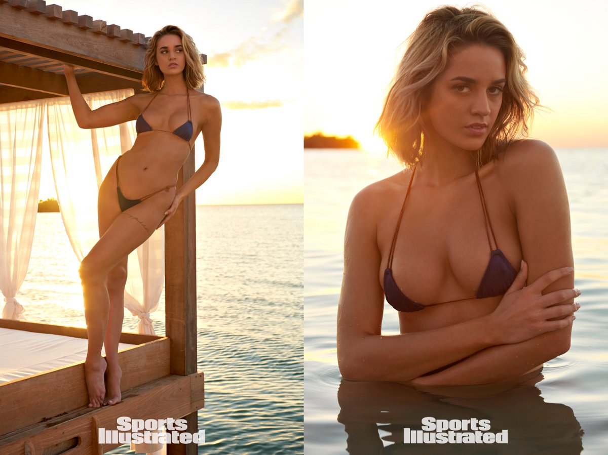 Sports Illustrated 2018 Swimsuit Model Allie Ayers
