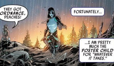 Domino #1 comic review