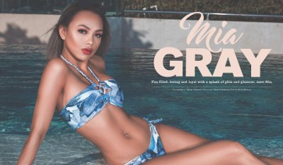 Mia Gray – FHM Australia (April 2018)