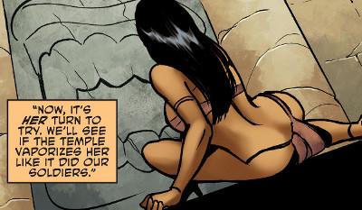 Sheena #8 comic review