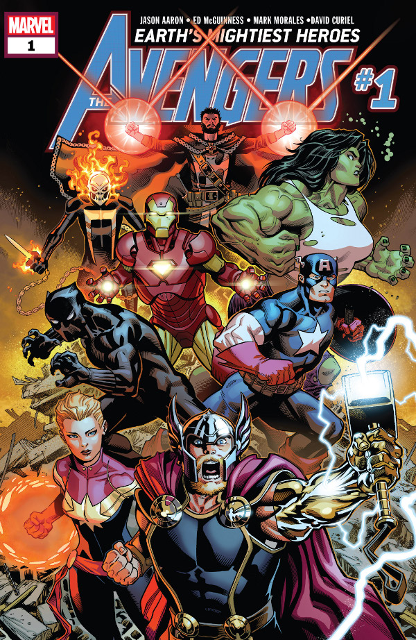 Avengers #1 comic review