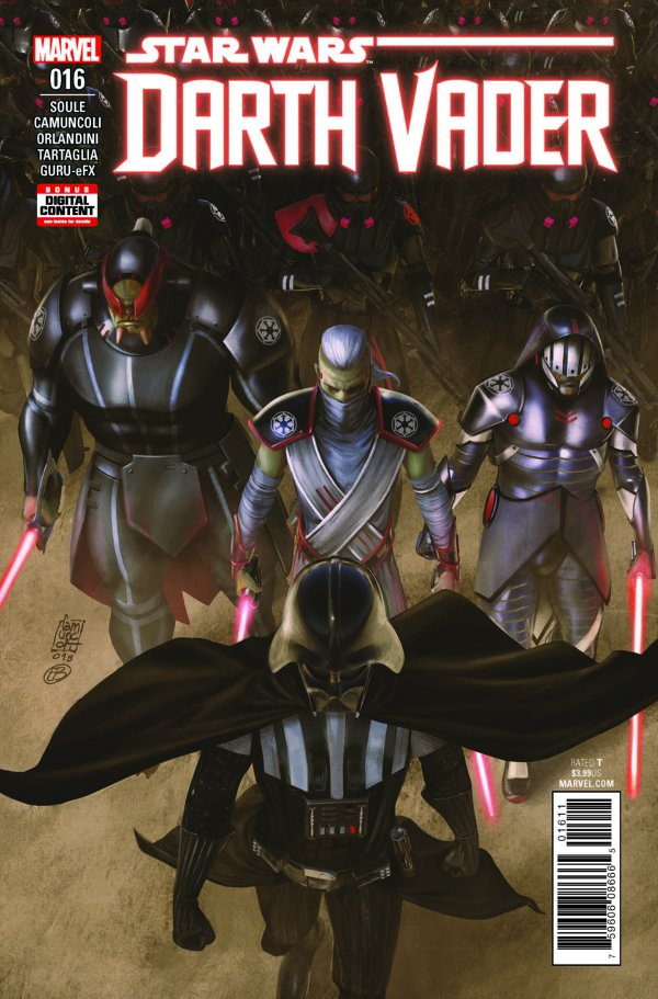 Darth Vader #16 comic review