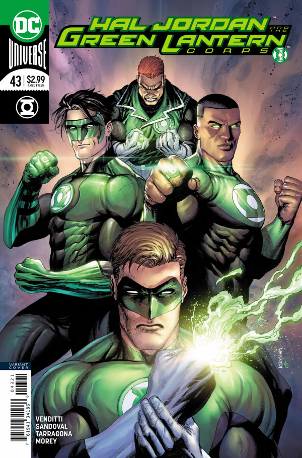 Hal Jordan and the Green Lantern Corps #43 comic review