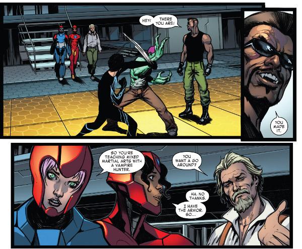 Invincible Iron Man #600 comic review