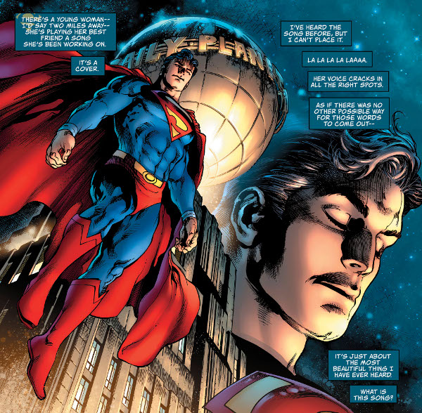 The Man of Steel #1 comic review