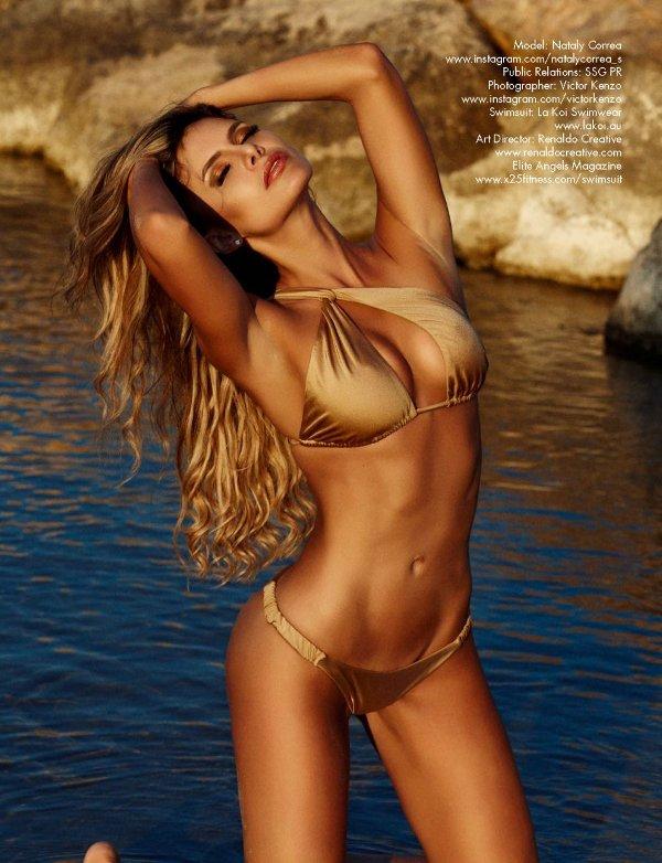 Nataly Correa - Elite Angel Swimsuit Magazine (Summer 2018)