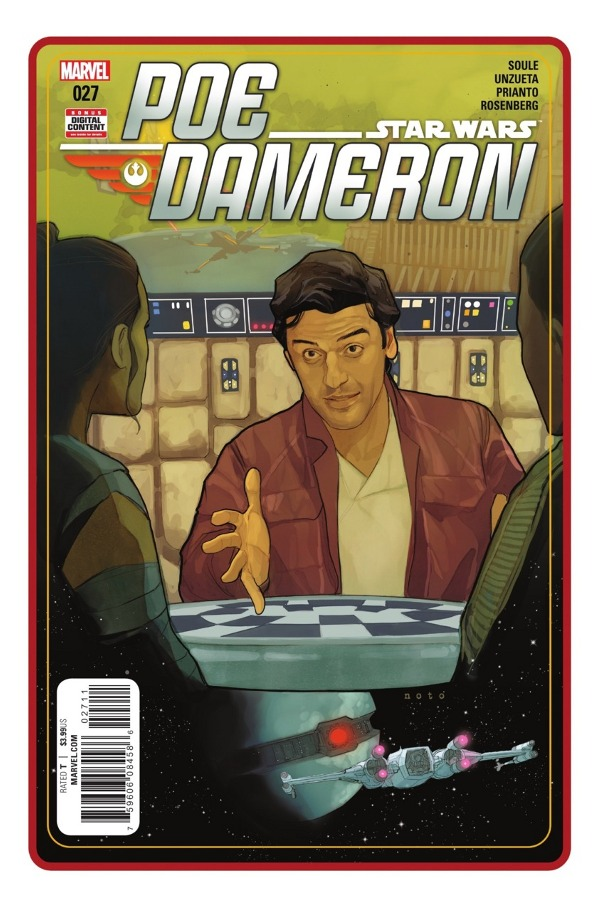 Poe Dameron #27 comic review