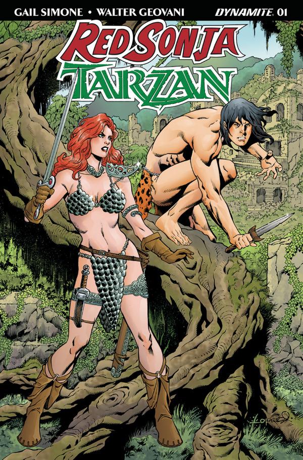 Red Sonja/Tarzan #1 comic review