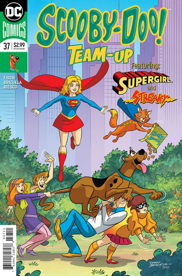 Scooby-Doo! Team-Up #37 comic review