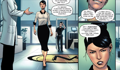 Executive Assistant Iris #1 comic review