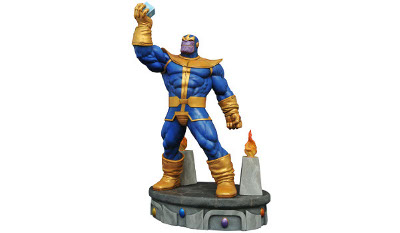 Marvel Premier Collection Thanos Cosmic Cube Resin Statue