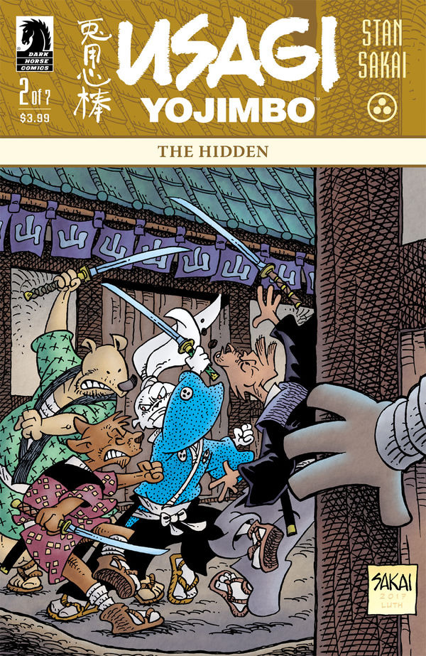 Usagi Yojimbo: The Hidden #2 comic review