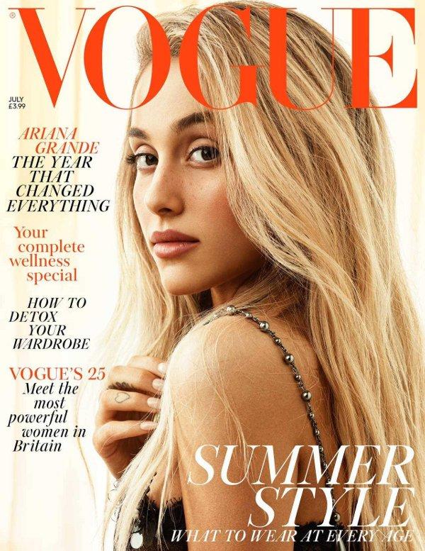 Ariana Grande - Vogue UK (July 2018)