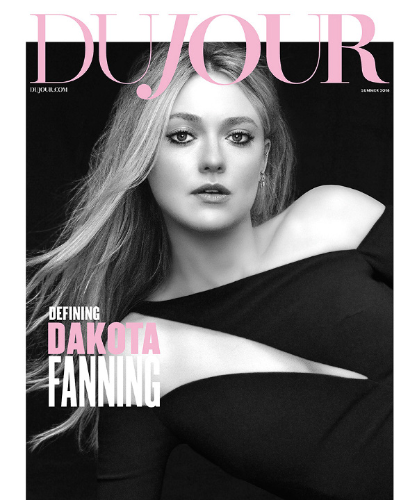 Dakota Fanning - DuJour (Summer 2018)
