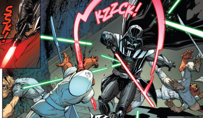 Darth Vader #17 comic review