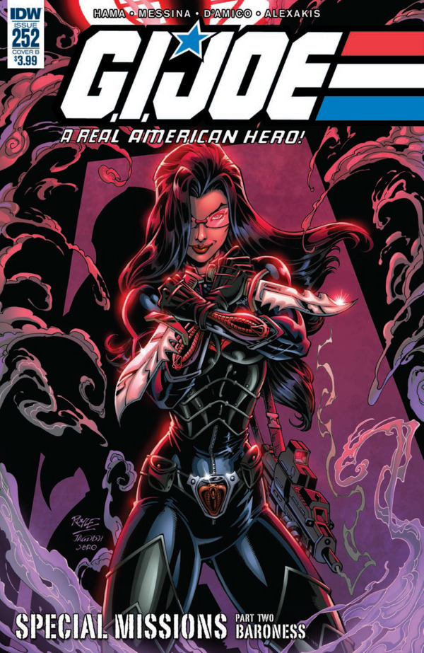 G.I. JOE: A Real American Hero #252 comic review