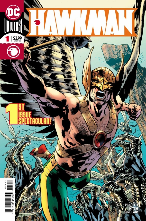 Hawkman #1 comic review