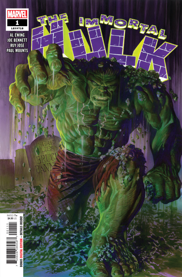 The Immortal Hulk #1 comic review