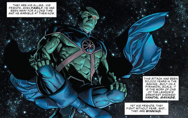 Justice League #1 comic review