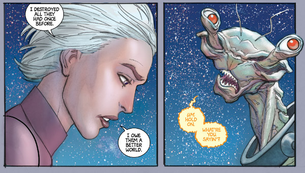 Stellar #1 comic review