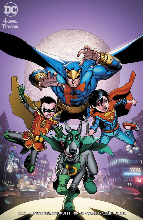 Super Sons/Dynomutt Special #1 comic review
