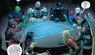 Justice League #1 comic review