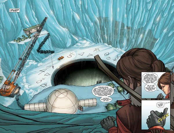 Tomb Raider: Inferno #1 comic review