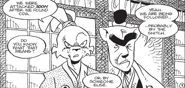 Usagi Yojimbo: The Hidden #4 comic review