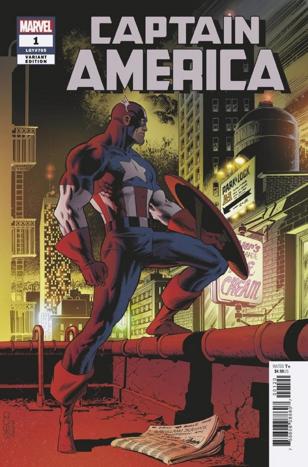 Captain America #1 comic review
