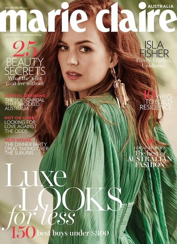 Isla Fisher - Marie Claire Australia (July 2018)