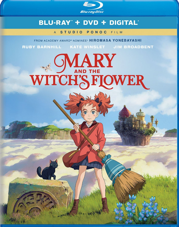 Mary and the Witch's Flower Blu-ray review