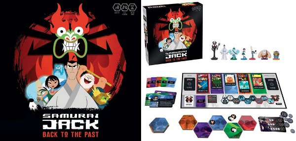 Samurai Jack: Back to the Past Board Game