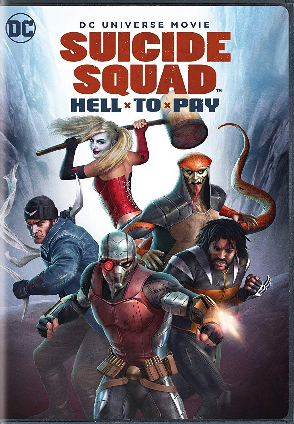 Suicide Squad: Hell to Pay DVD review