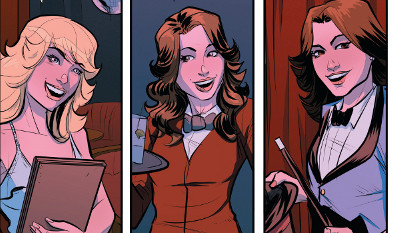 Charlie's Angels #1 comic review