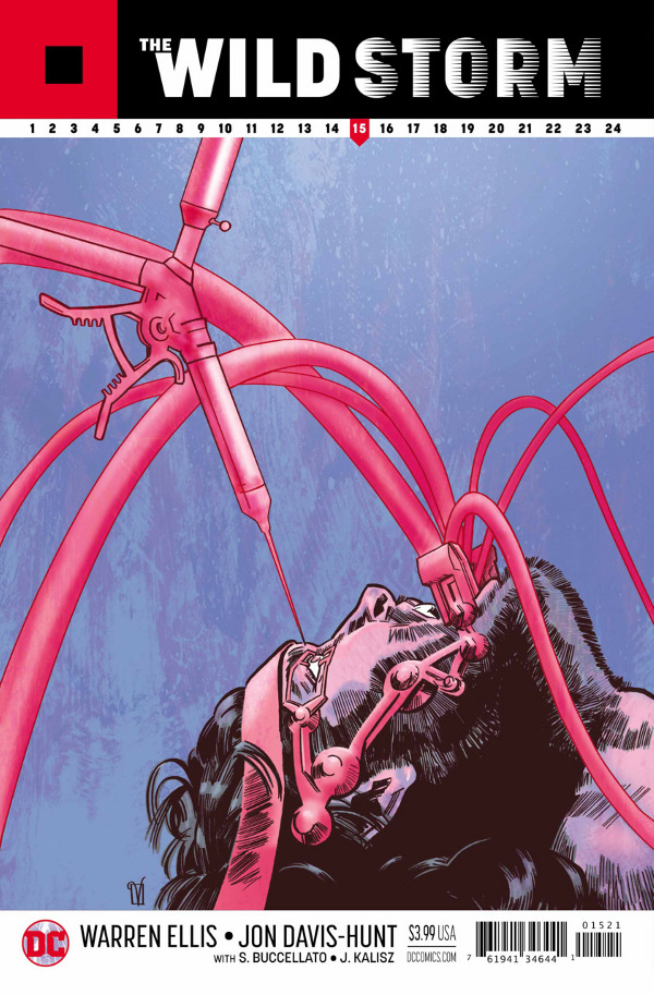 The Wild Storm #15 comic review