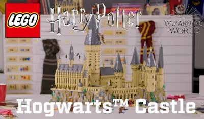 LEGO Designer Review – Harry Potter Hogwarts Castle #71043