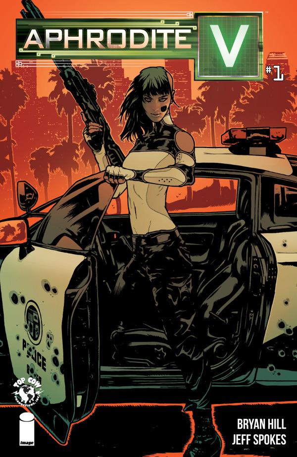 Aphrodite V #1 comic review