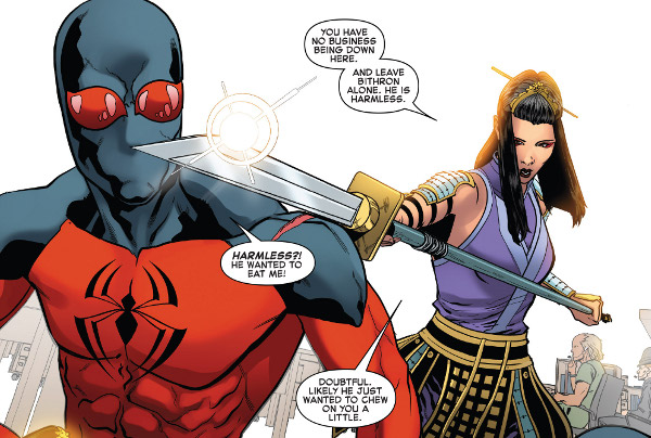 Ben Reilly: Scarlet Spider #22 comic review
