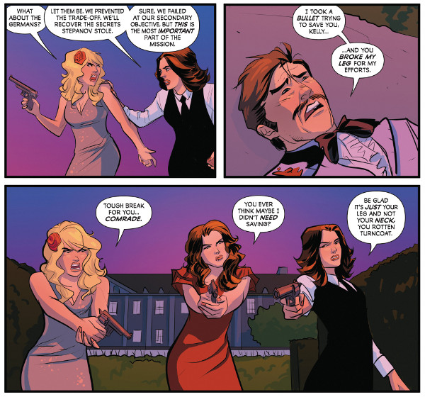 Charlie's Angels #2 comic review