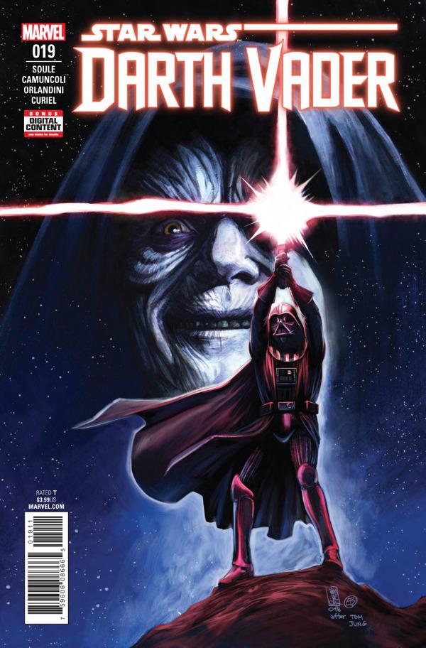 Darth Vader #19 comic review