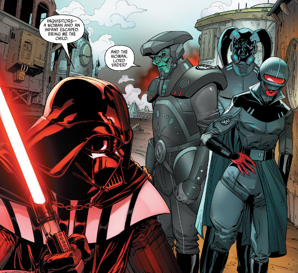 Darth Vader #19 comic review
