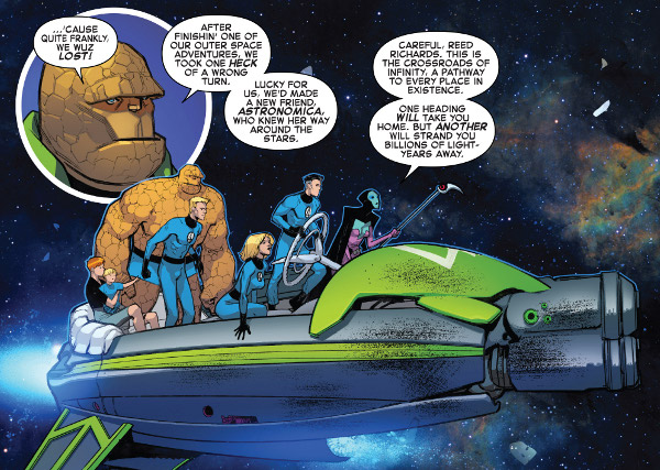 Fantastic Four #1 comic review