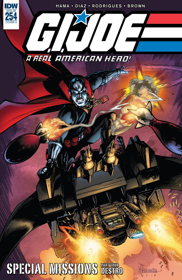 G.I. JOE: A Real American Hero #254 comic review