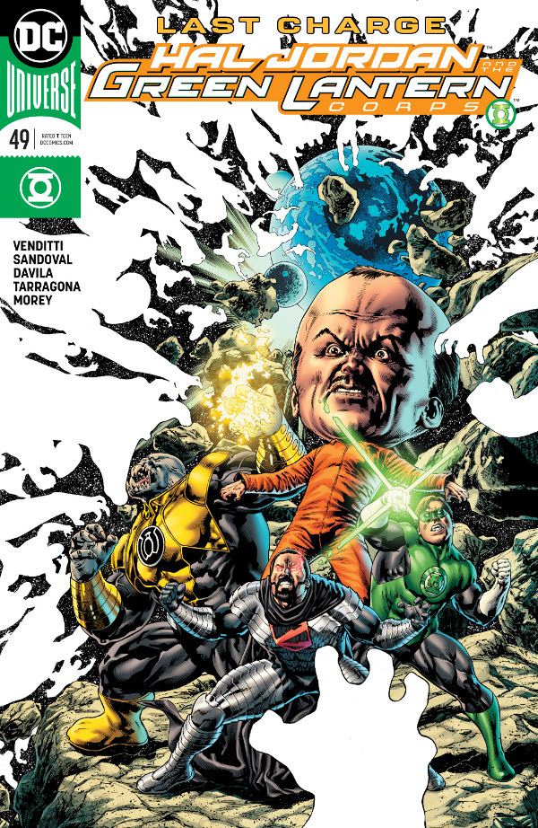 Hal Jordan and the Green Lantern Corps #49 comic review